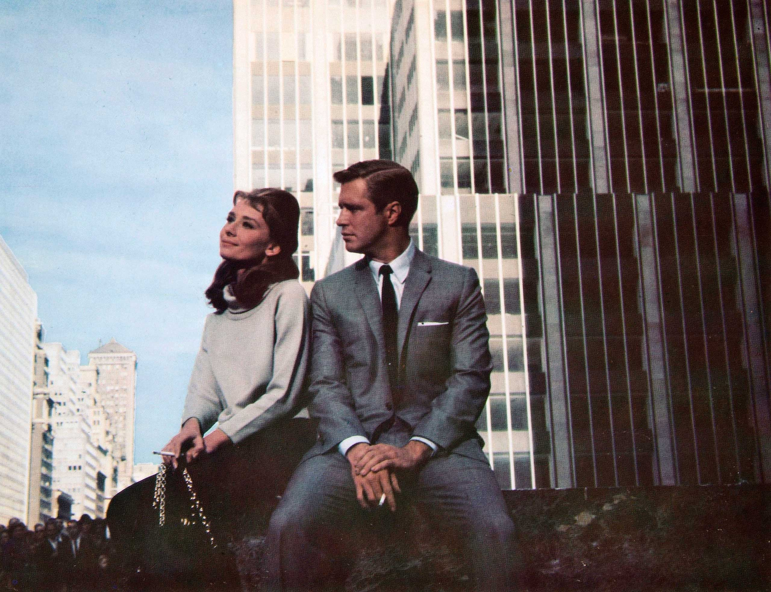 <strong>Holly Golightly and Paul - <i>Breakfast at Tiffany's</i>, 1961</strong>