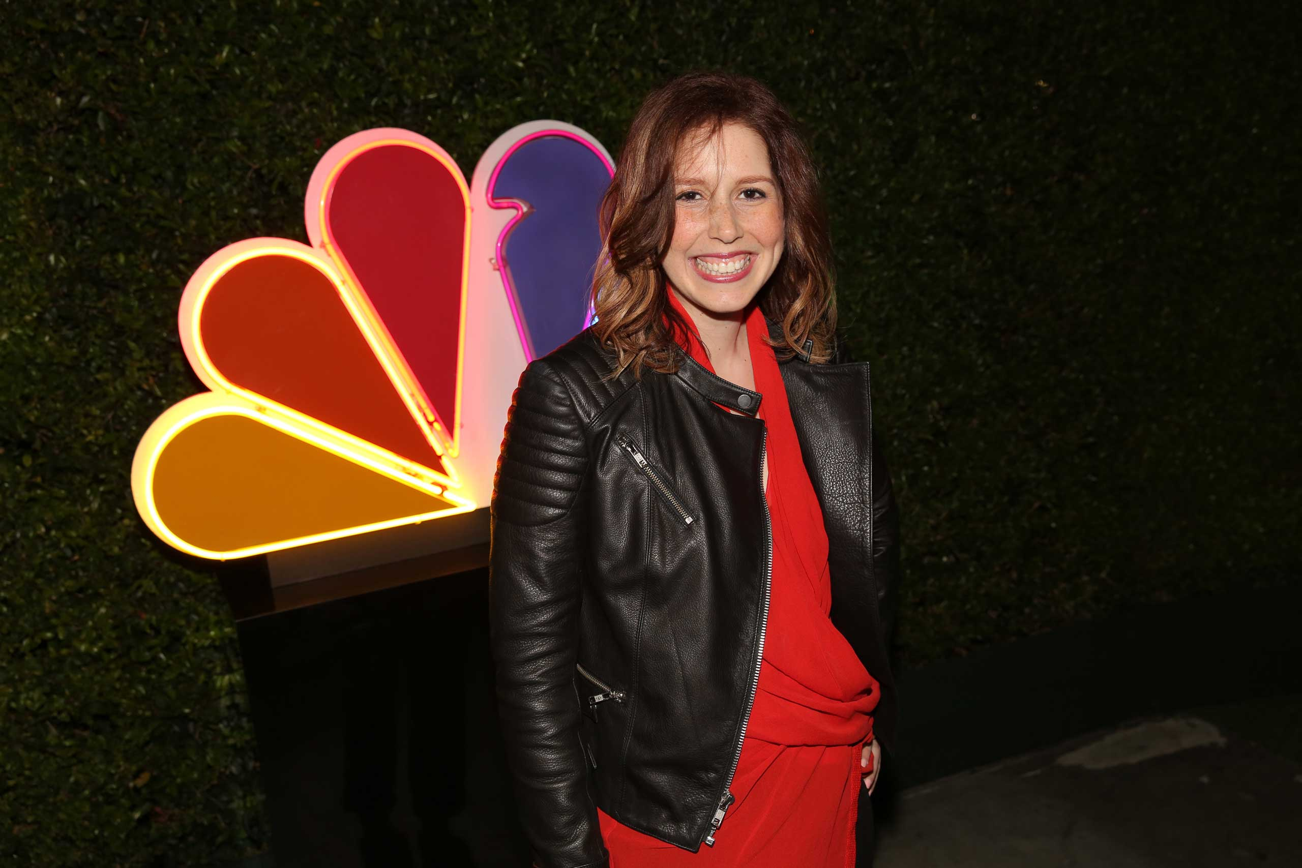 Vanessa Bayer,  Saturday Night Live  at Boa Steakhouse, West Hollywood, in 2014.
