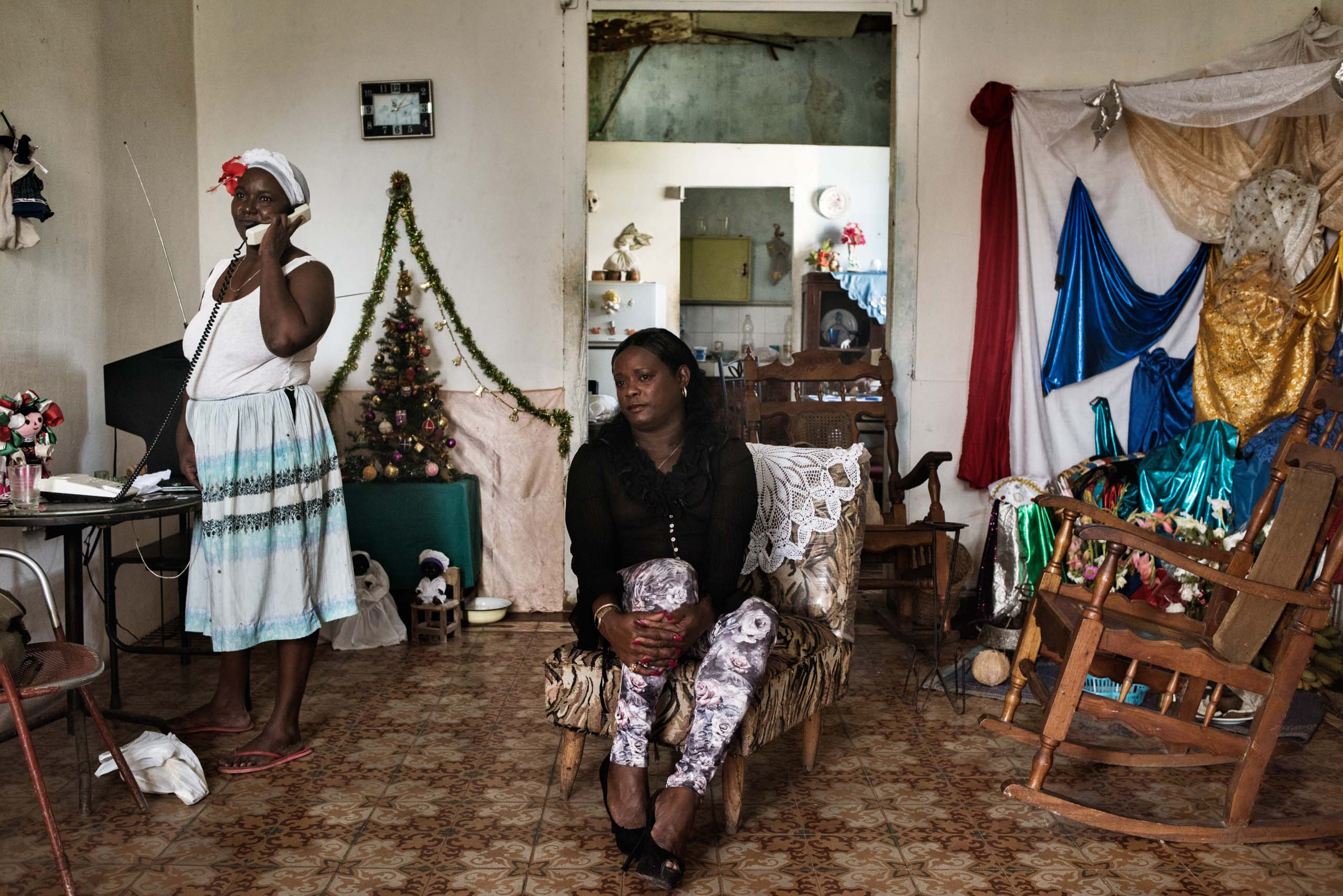 December 2014. Naomi, age 40, has lived as a female since she was 17 in Havana. Members of the LGBT community are often marginalized in Cuba. Today, Mariela Castro, daughter of President Raoul Castro, is a prominent LGBT activist and a hero to many in the community.