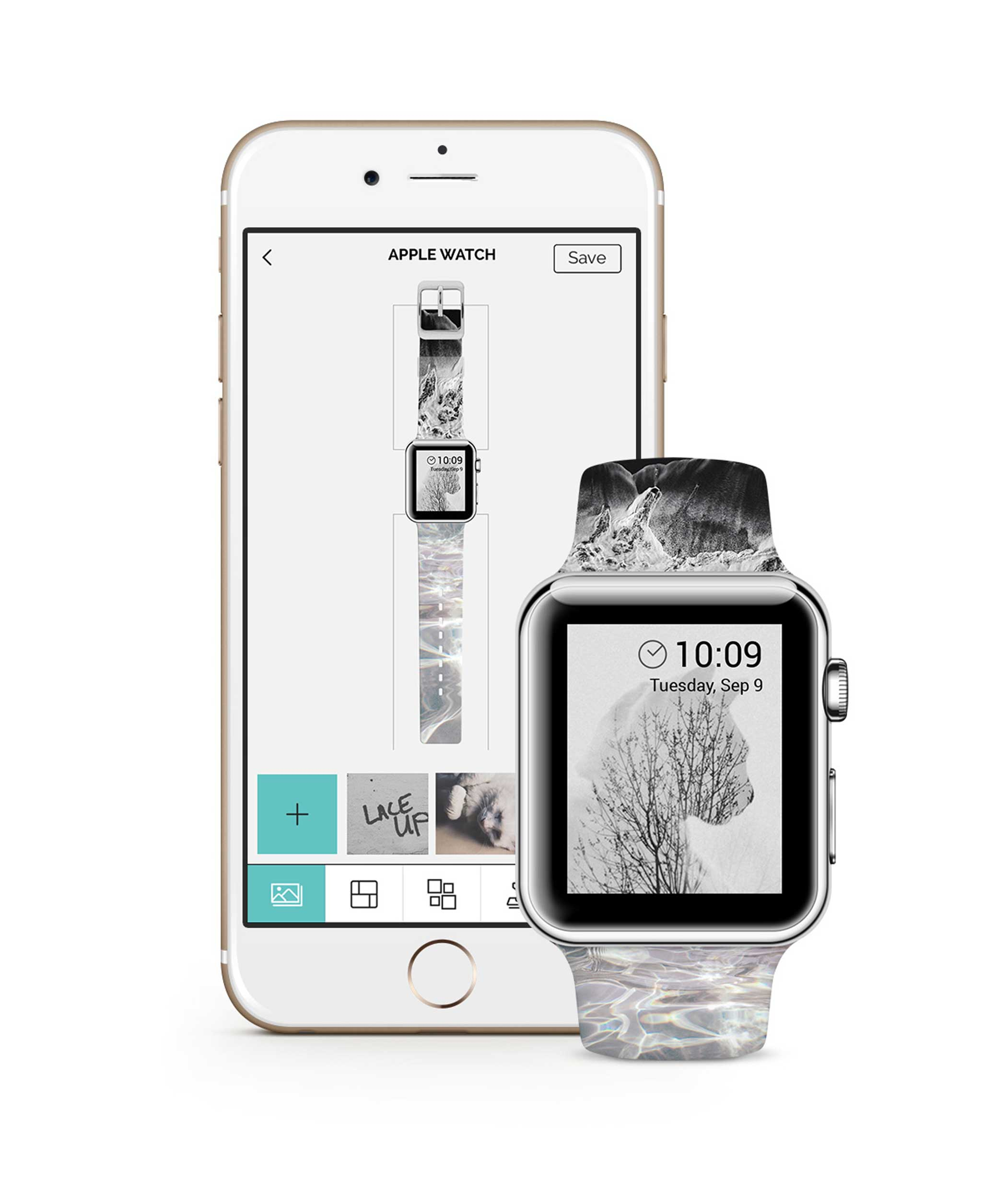 Casetify Customizable Watch Band If Apple's watch band selection doesn't fit your tastes, Casetify allows you to create your own for $50 — you can even print your own selfies on the band. As its name suggests, Casetify also sells custom designed iPhone cases.