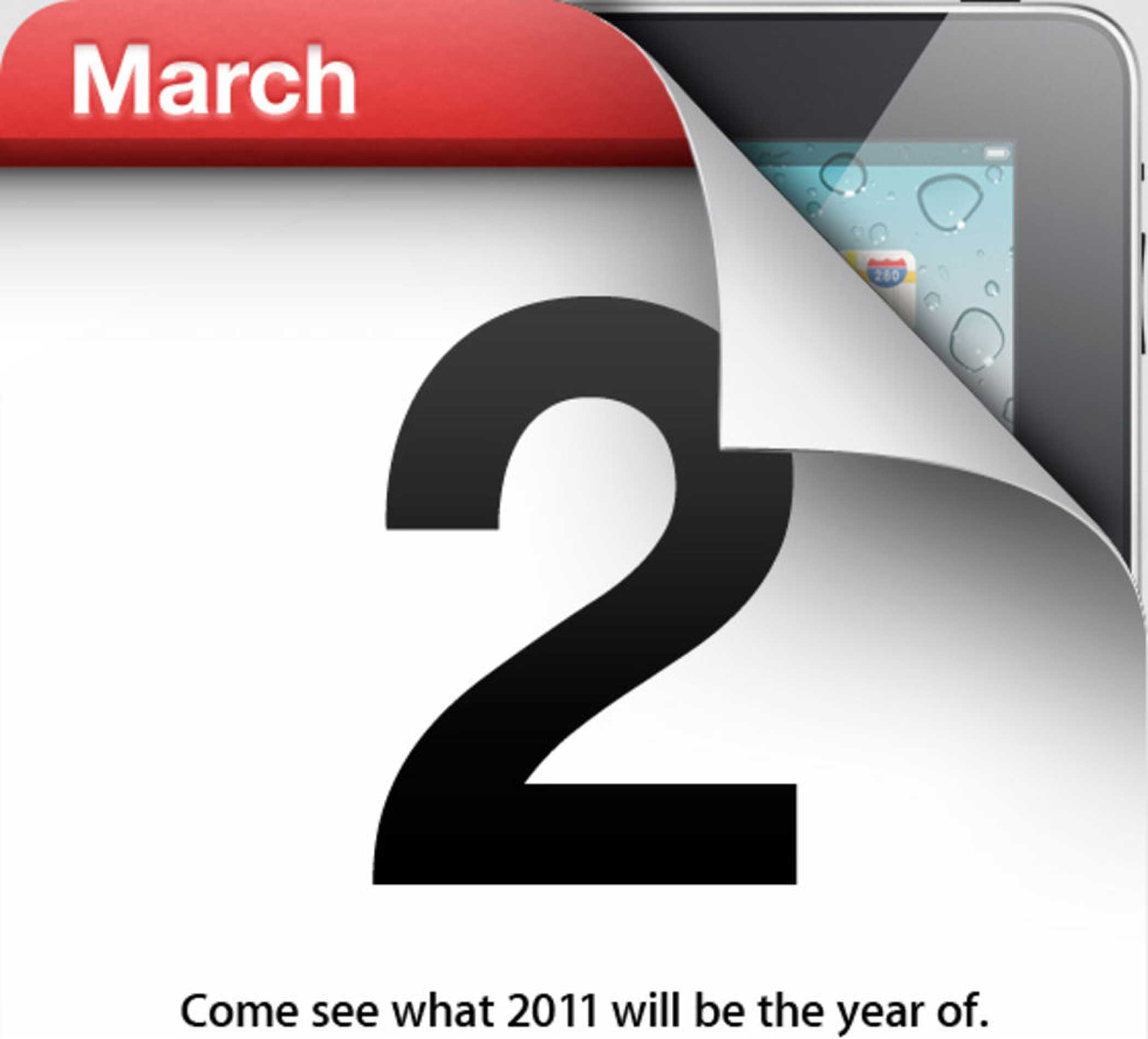 <strong>iPad 2</strong>, March 2011