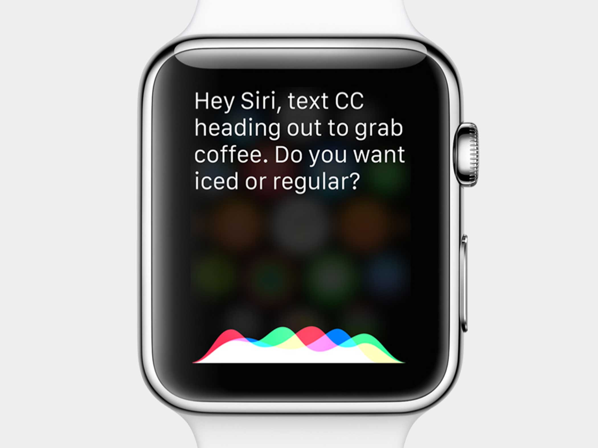 """Raise your wrist and say """"Hey Siri"""" to do all kinds of things with Apple Watch."""