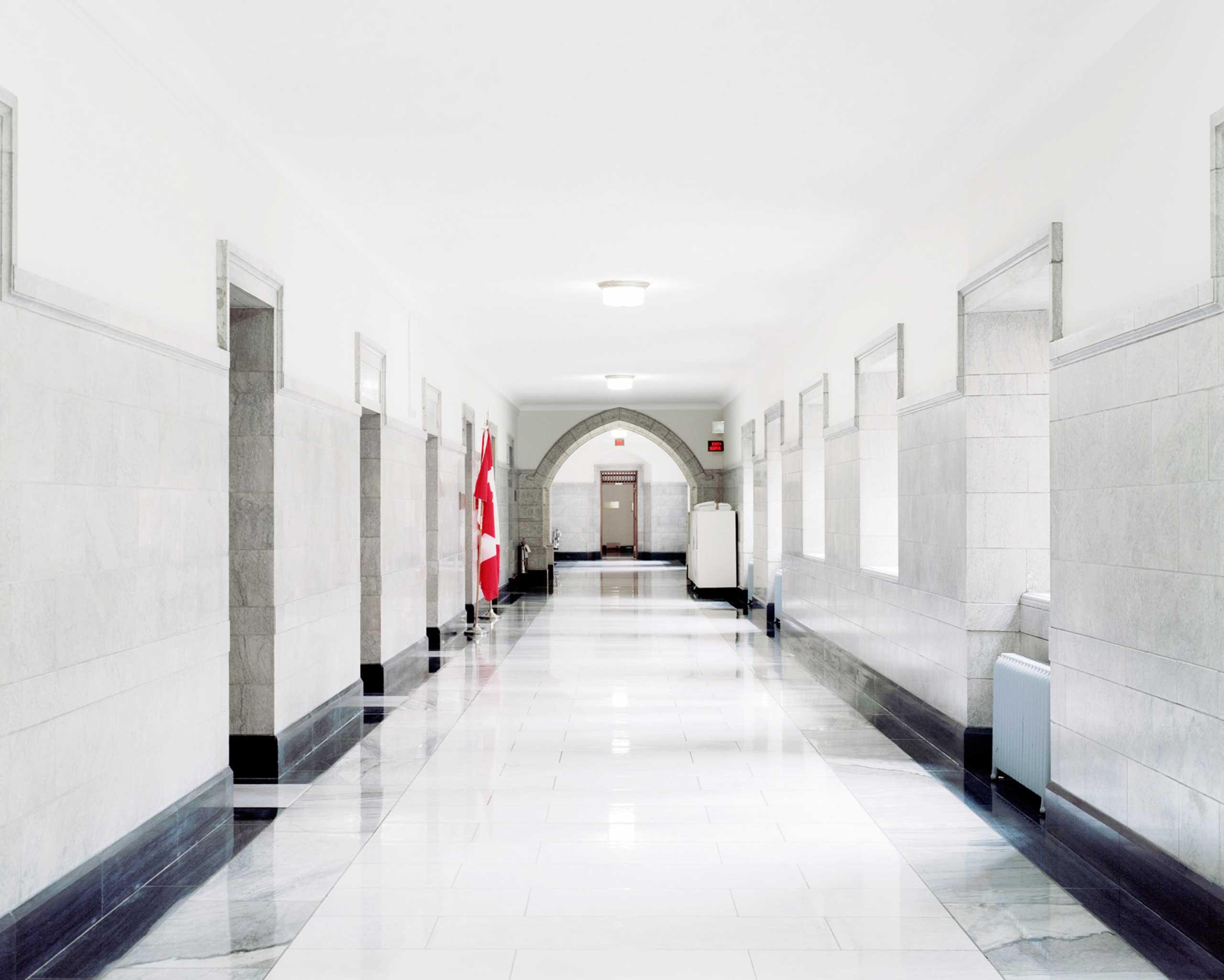 Corridor, 3rd floor, Center Block, Parliament Hill