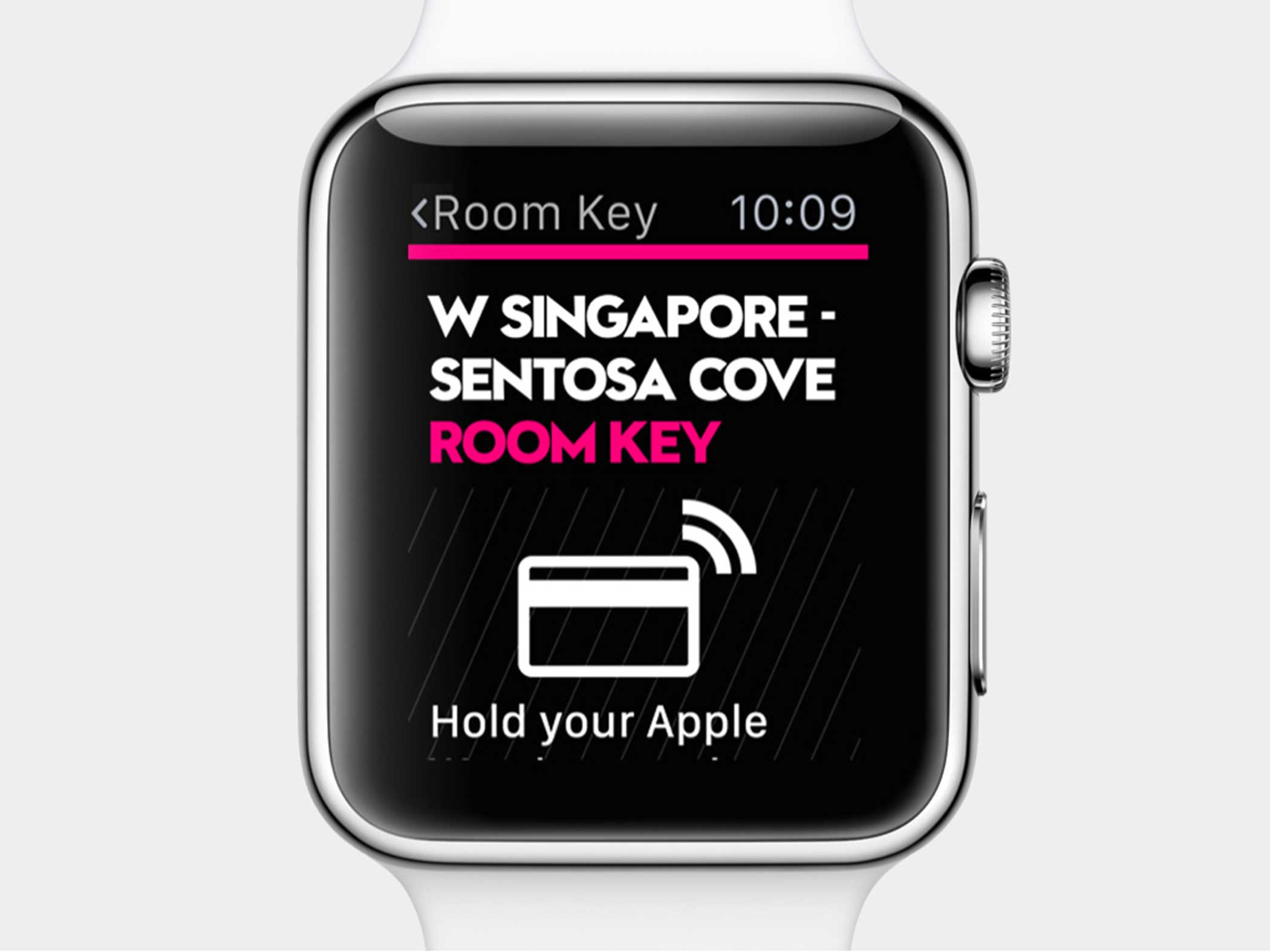 Check into your hotel and unlock your room using the SPG app.