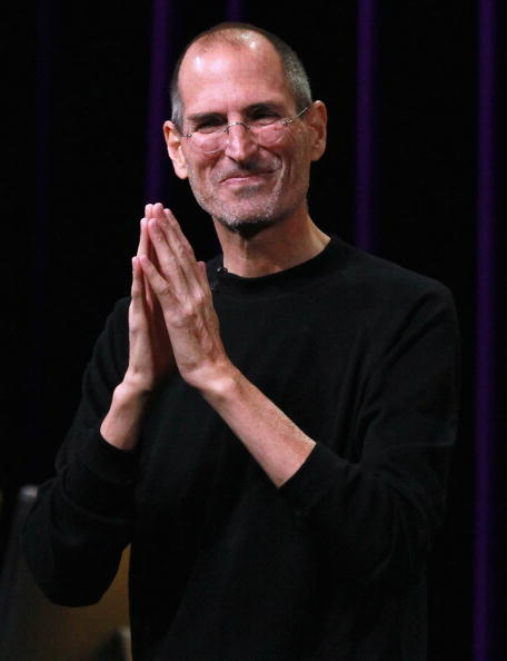 Steve Jobs speaks at an Apple Special Event in San Francisco on Sept. 1, 2010.