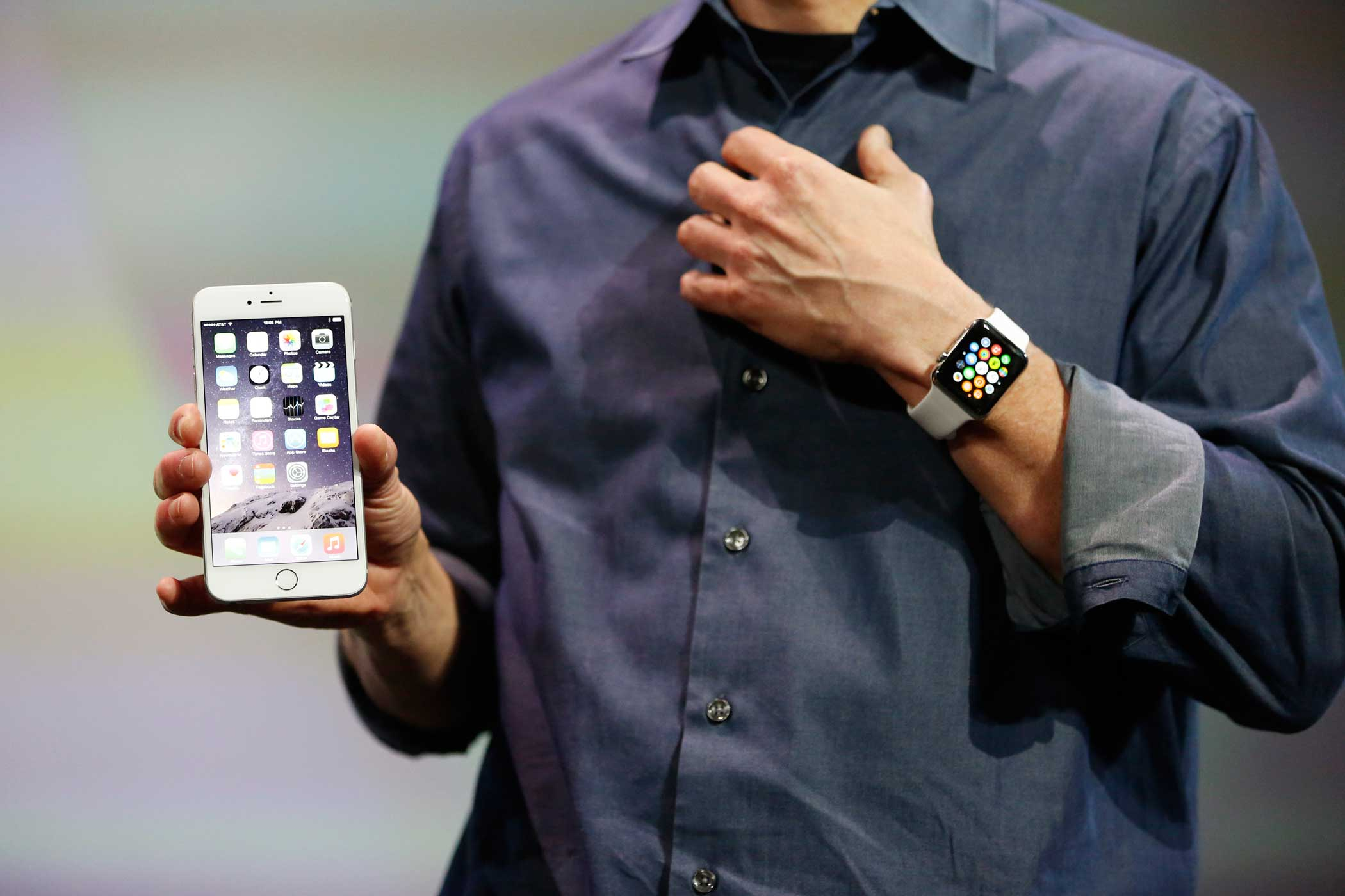 The Watch must be paired with an iPhone for many of its functions. The device piggybacks on the phone's data and GPS connections to pipe in directions or incoming voice calls and text messages, for instance.