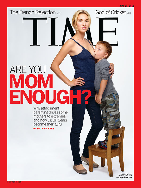The May 21, 2012, cover of TIME