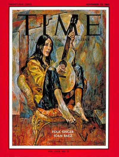 The Nov. 23, 1962, cover of TIME