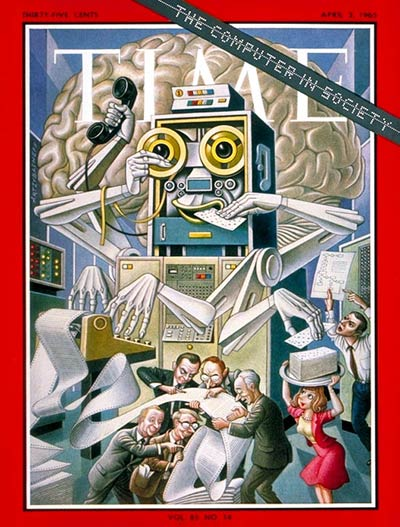 The April 2, 1965, cover of TIME