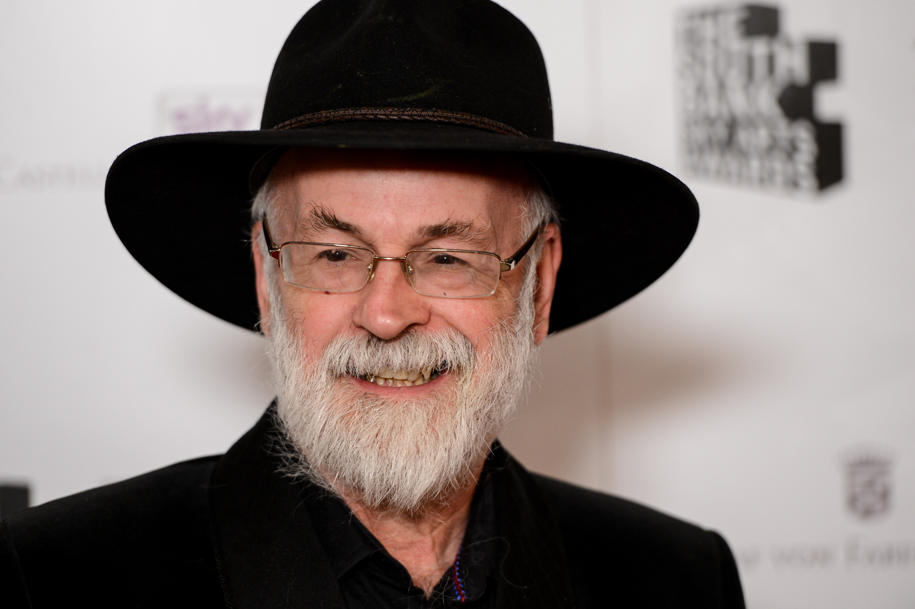 Terry Pratchett attends the South Bank Sky Arts Awards at Dorchester Hotel