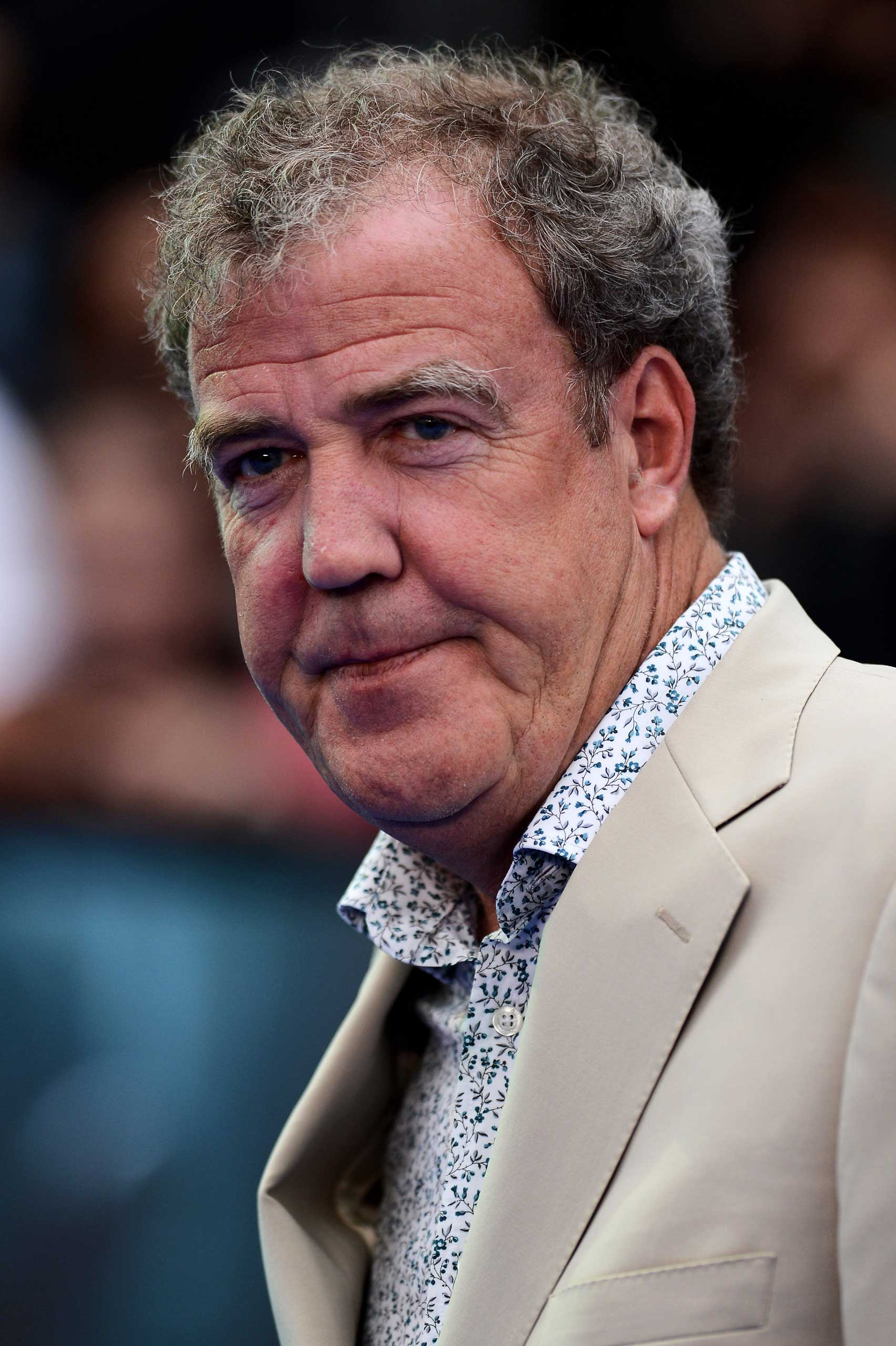 Jeremy Clarkson in  London in 2012.