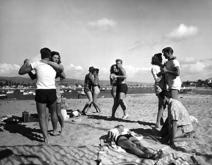 Vintage Spring Break Southern California Beach Vacation, 1947  Timecom-9966