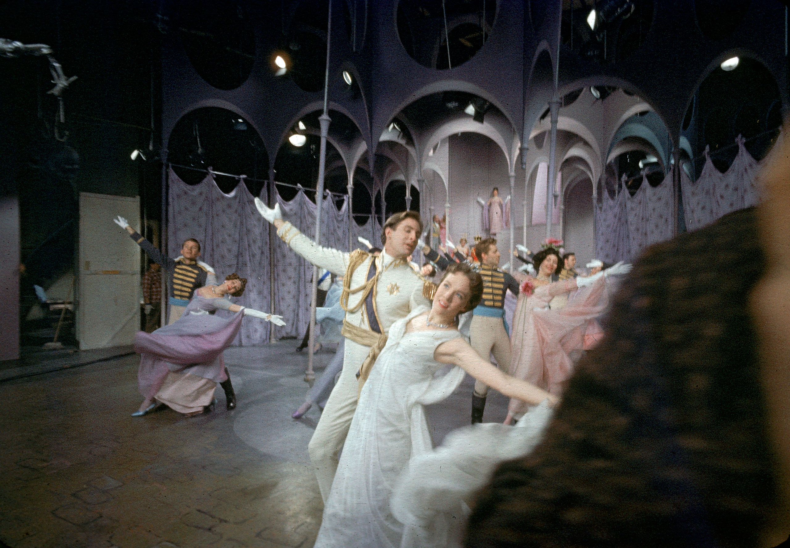 A scene from Cinderella.
