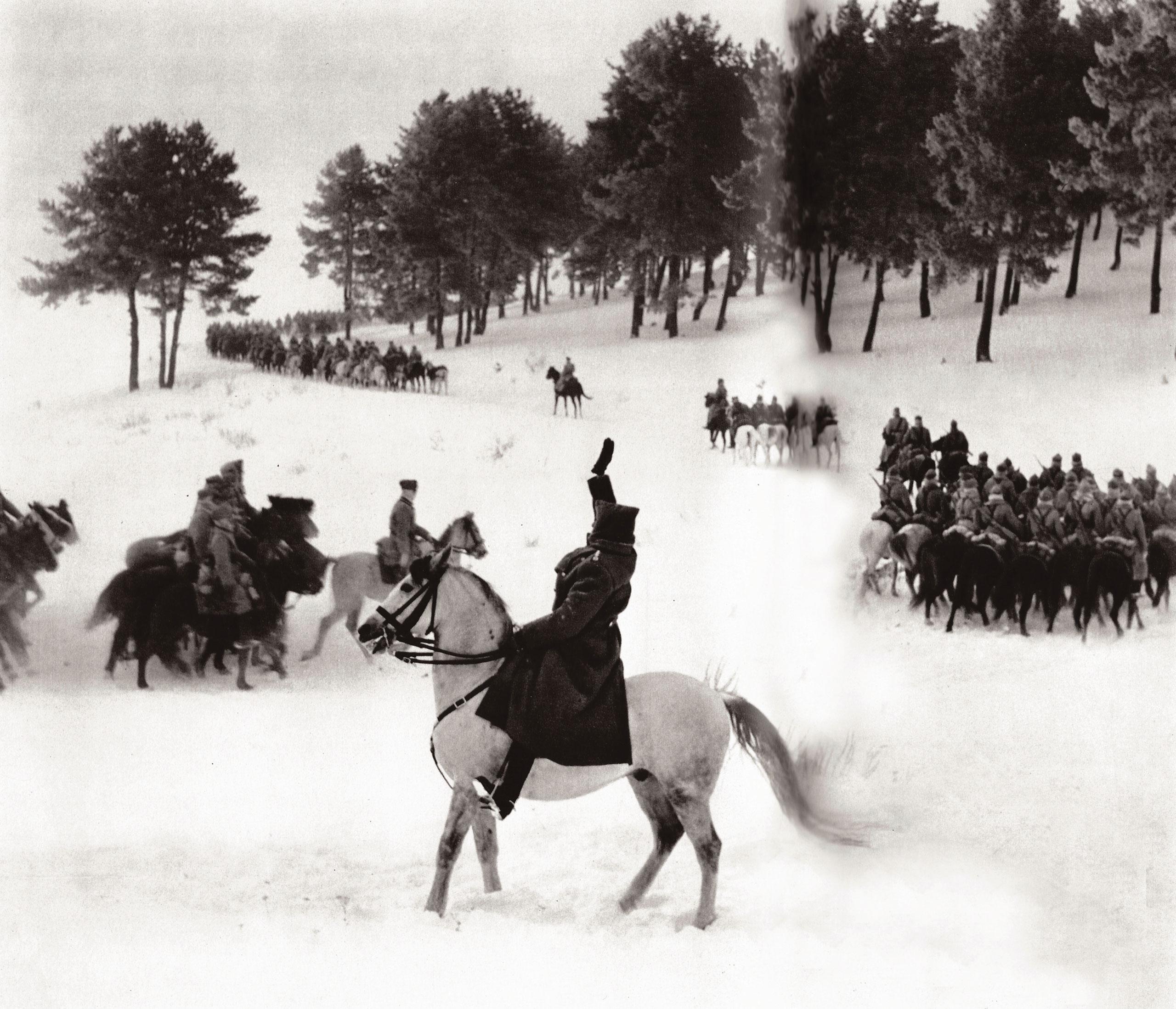 "General ""Black Avni,"" Turkish cavalry division, Russian fonder, 1948."