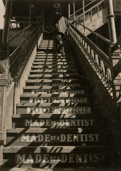 Third Avenue L Stairs, c. 1937.