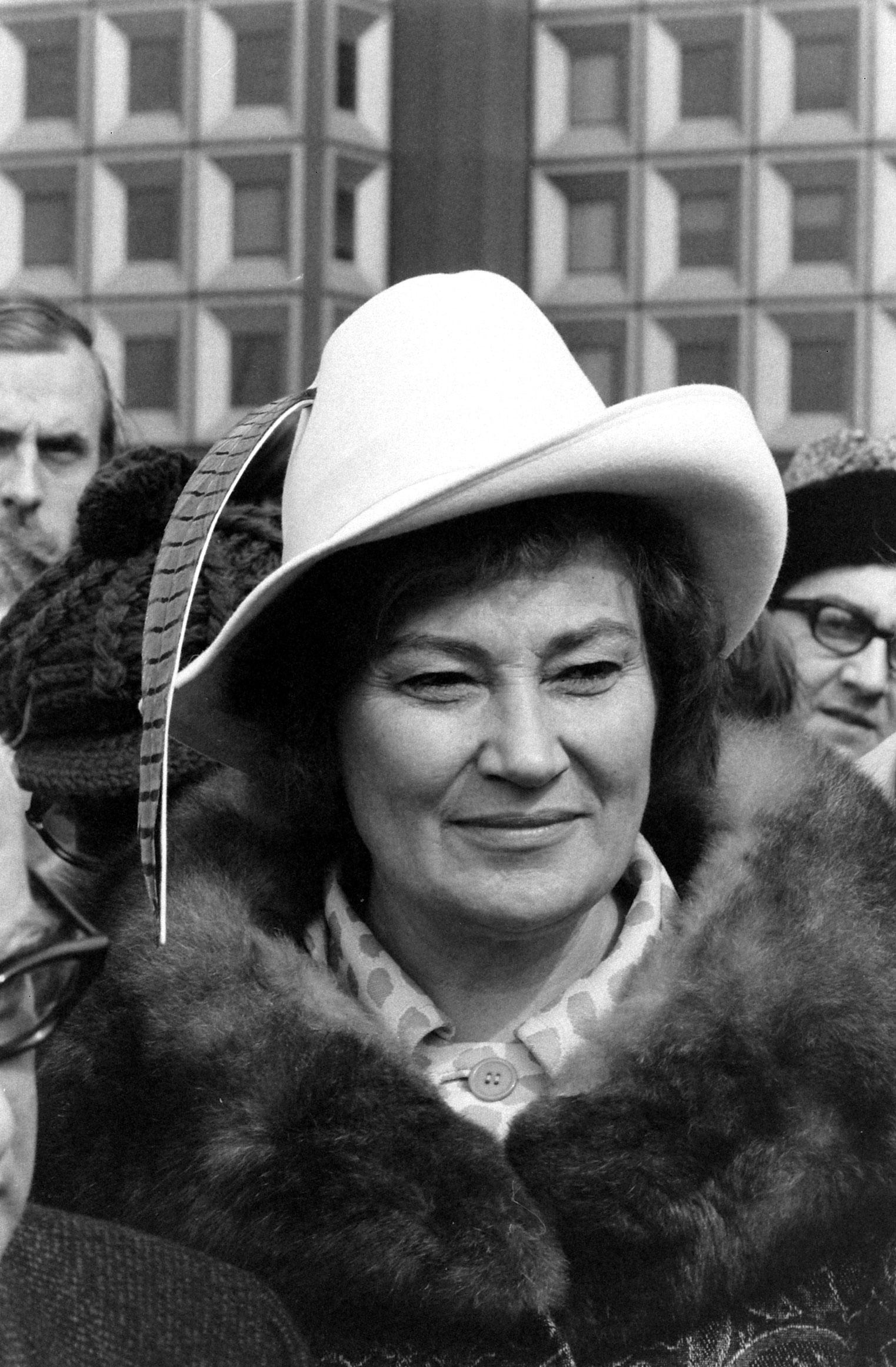 Bella Abzug, 1972.