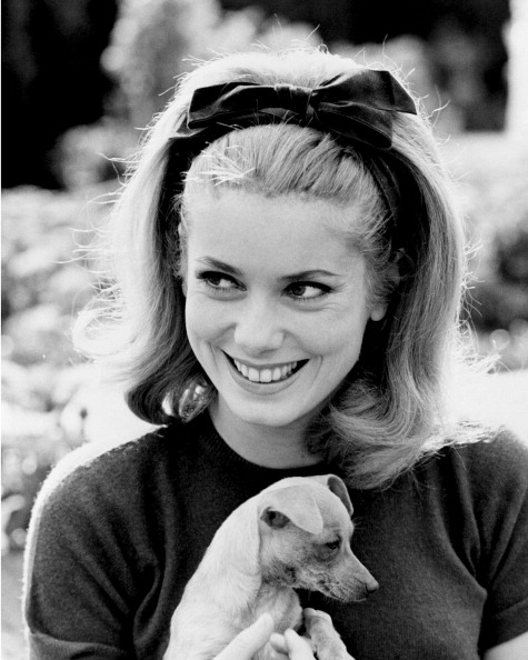 French actress Catherine Deneuve, circa 1962.