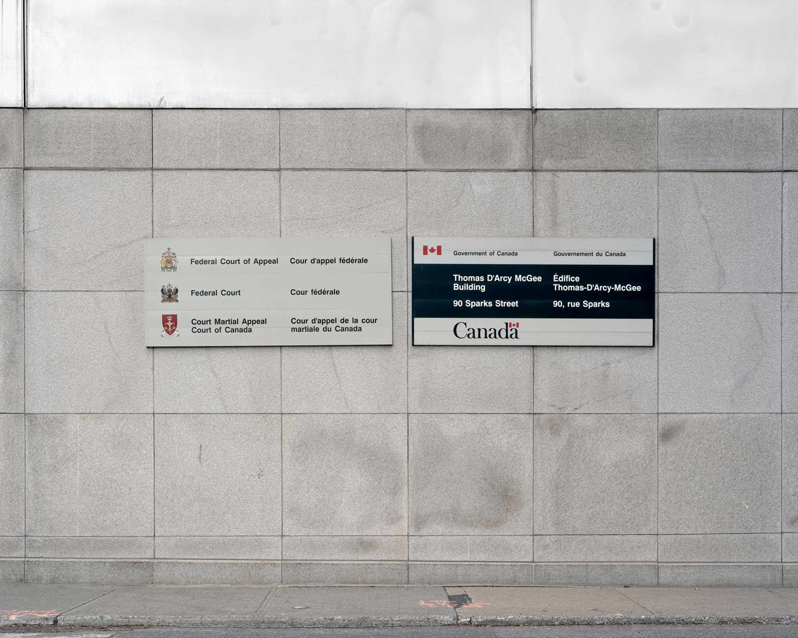 Government signage
