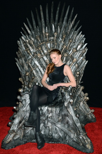 Actress Sophie Turner attends the Academy of Television Arts & Sciences an evening with HBO's  Game Of Thrones  in Hollywood, Calif. on March 19, 2013.
