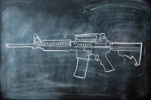 chalk-drawing-gun