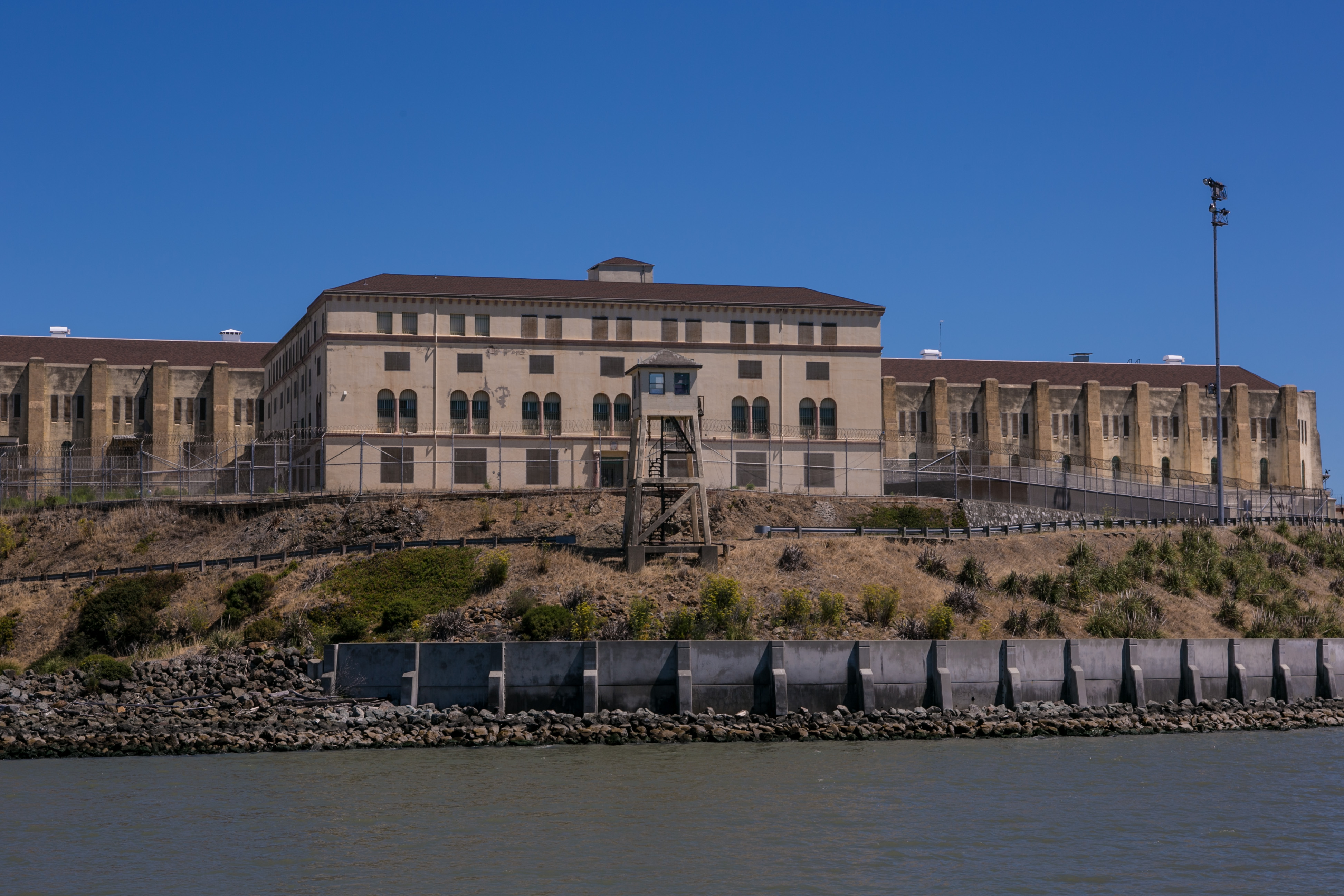 San Quentin Prison shown on July 10, 2013, in Larkspur, Califo.