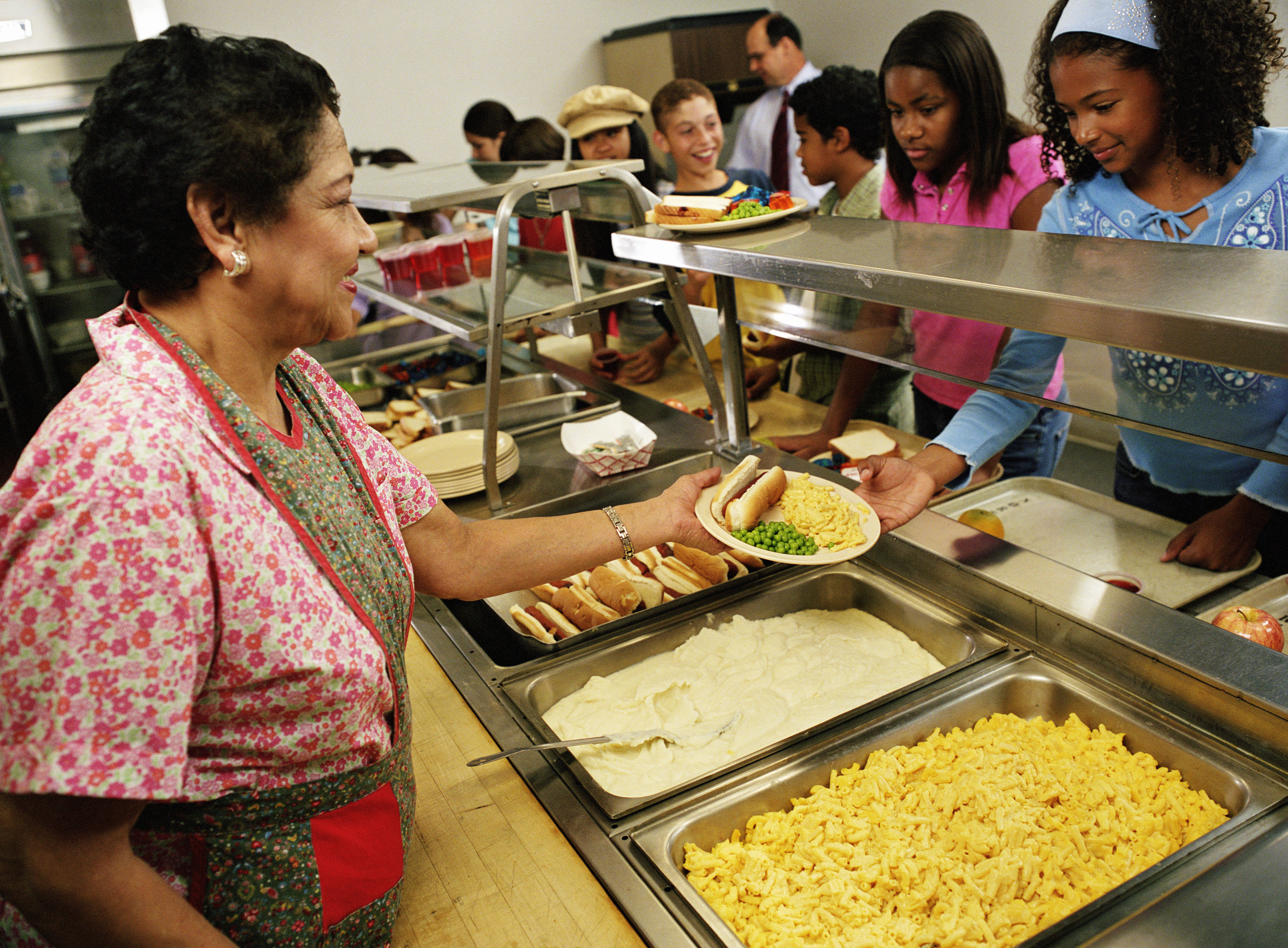 For many children, half their daily calories come from school lunch