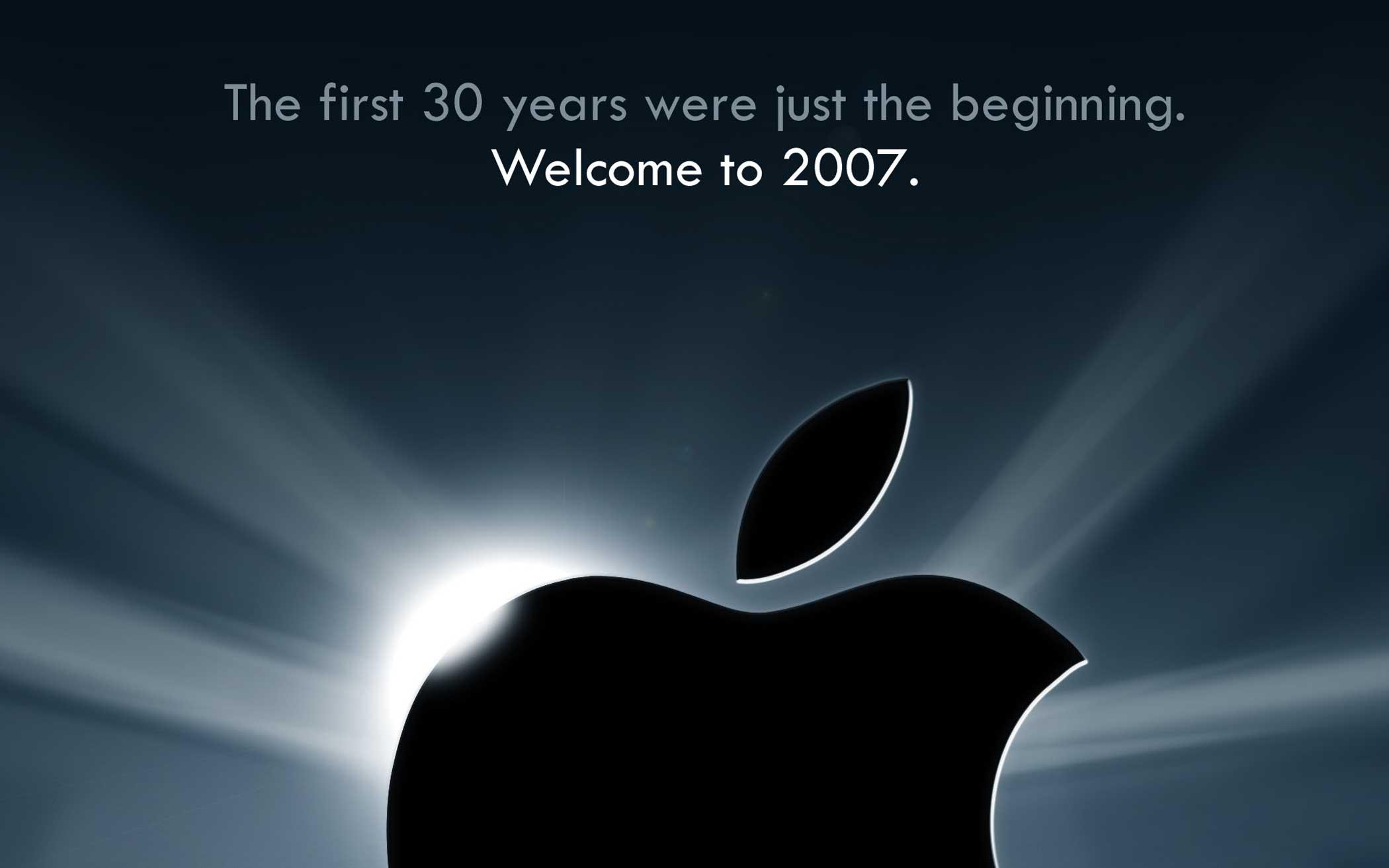 iPhone, January 2007