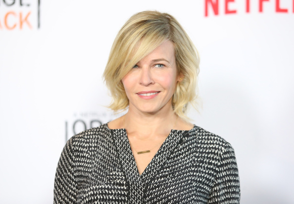 Chelsea Handler arrives at a screening of Orange Is the New Black held at DGA Theater in Los Angeles on Aug. 4, 2014