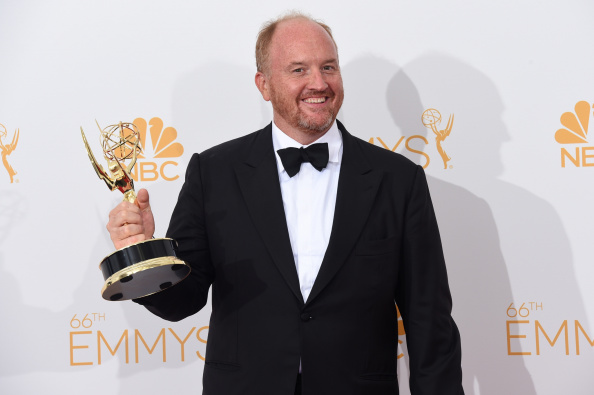 Louis C.K. wins an Emmy for Outstanding Writing for a Comedy Series for Louie