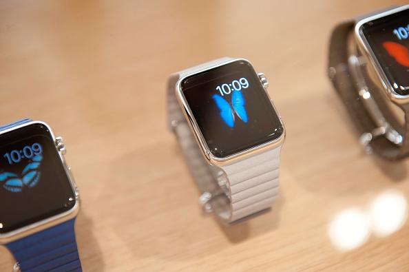 Apple Presents Apple Watch At Colette Paris in Paris, France on Sept. 30, 2014.
