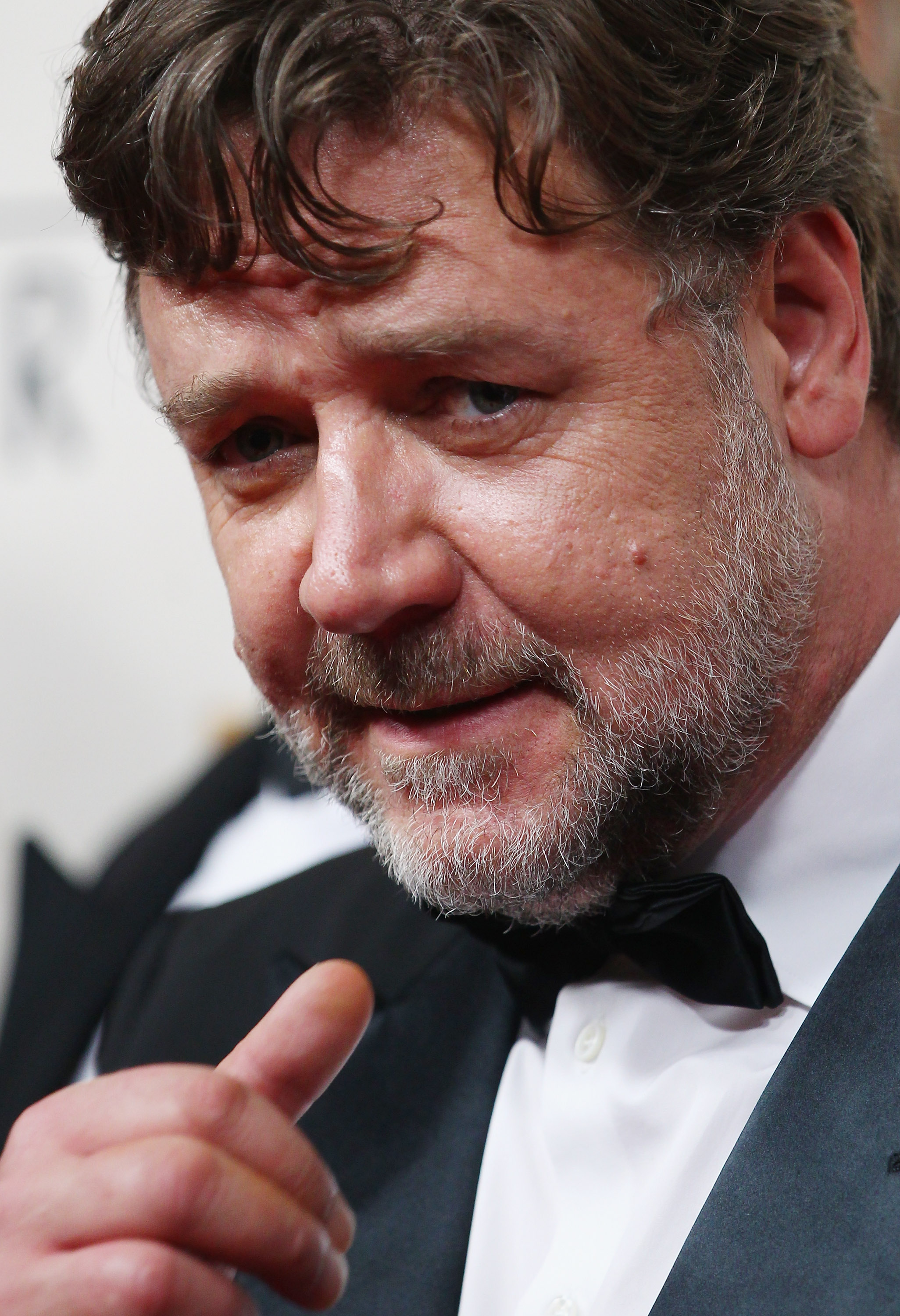 Russell Crowe arrives at the World Premier of  The Water Diviner