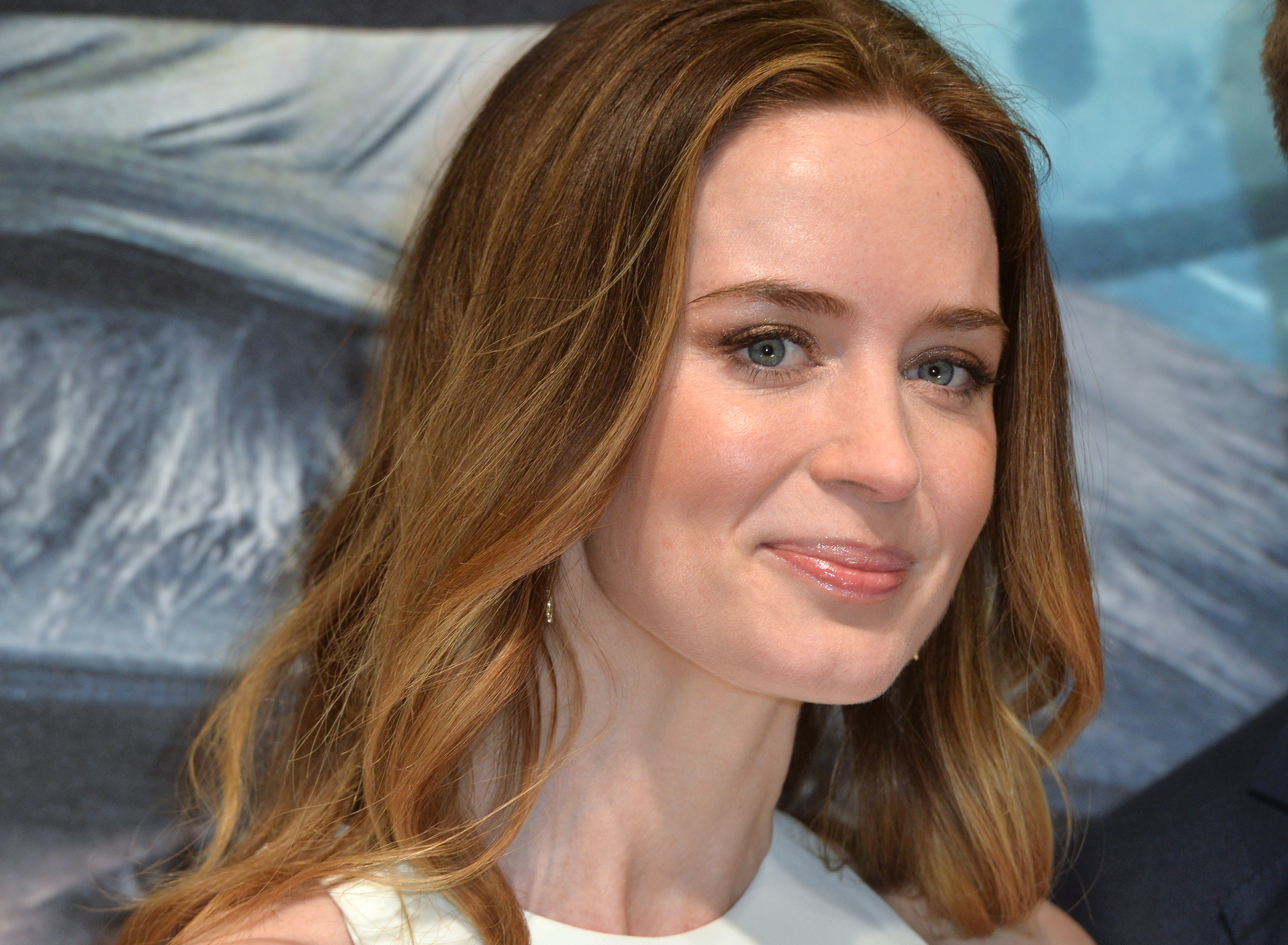 Emily Blunt attends the gala screening of  Into The Woods  at The Curzon Mayfair on January 7, 2015 in London, England