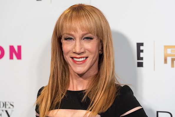 Kathy Griffin attends Nylon and Fashion Police's Fifty Shades of Grey Release Party at Dream Downtown in New York City on Feb. 11, 2015