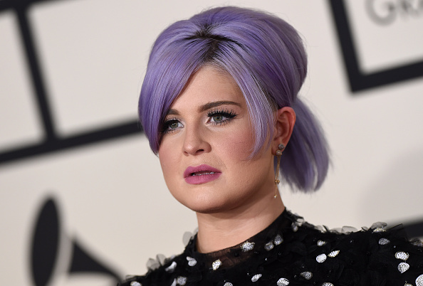 Kelly Osbourne arrives at the 57th Annual Grammy Awards at the Staples Centerin Los Angeles on Feb. 8, 2015