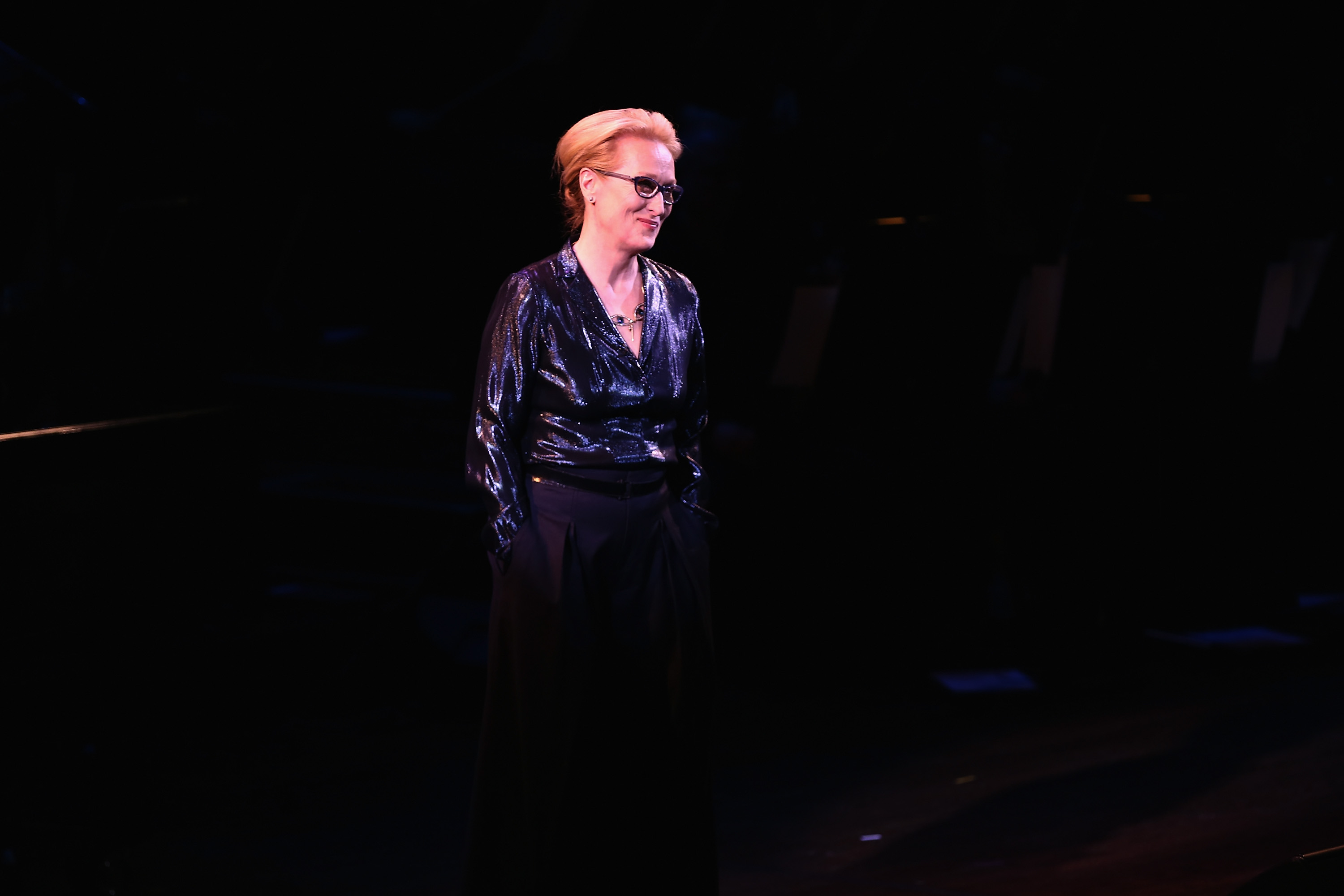 Meryl Streep attends SeriousFun Children's Network 2015 New York Gala: An Evening of SeriousFun Celebrating the Legacy of Paul Newman at Avery Fisher Hall at Lincoln Center for the Performing Arts on March 2, 2015 in New York City.