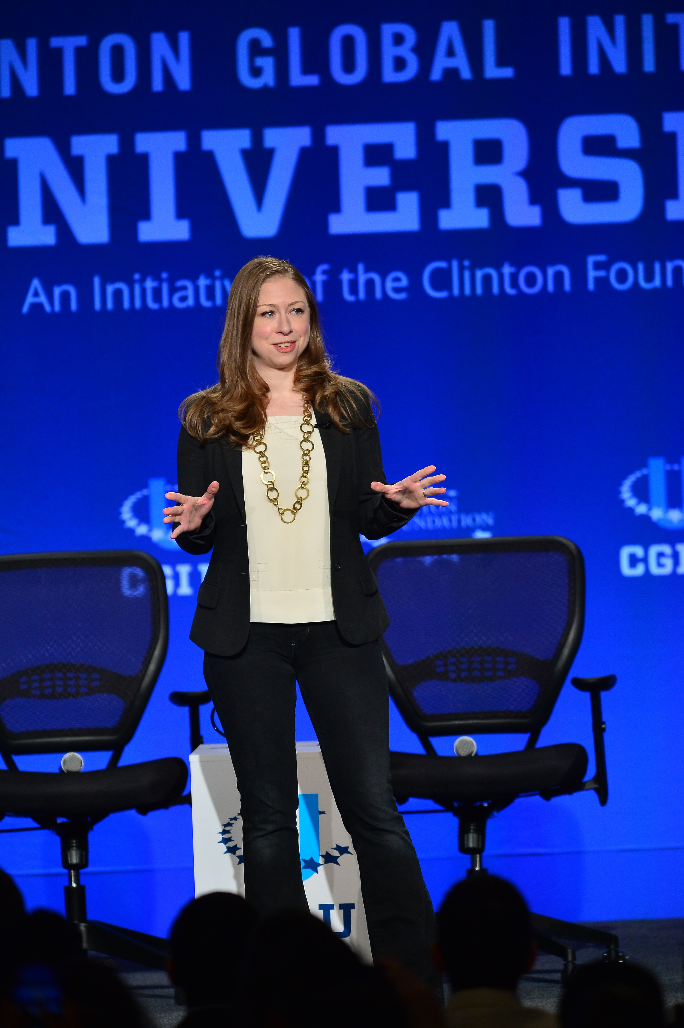 Vice Chair of Clinton Foundation Chelsea Clinton attends Clinton Global Initiative University - Fast Forward: Accelerating Opportunity for All at University of Miami on March 6, 2015 in Miami, Florida.