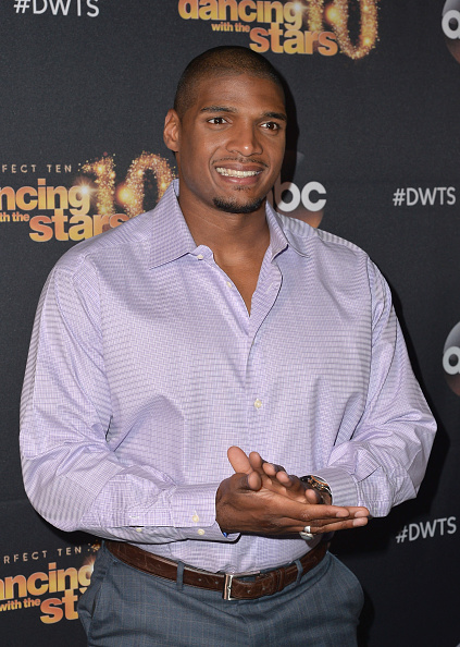 Michael Sam attends the premiere of ABC's  Dancing With The Stars  season 20 in West Hollywood, Calif. on March 16, 2015.
