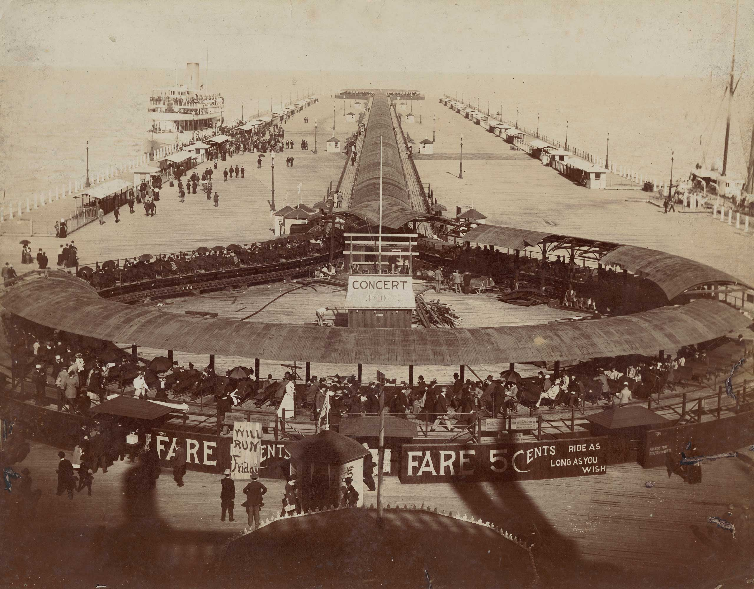 """A collection of 101 homemade recordings from the 1893 Chicago World's Fair features world music from special international """"villages,"""" including some of the earliest know recordings of non-Western styles such as Javanese Gamelan. (Chicago History Museum/Getty Images)"""