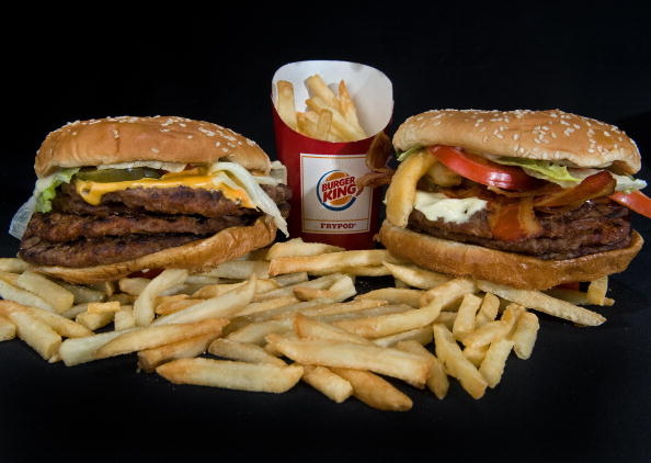 Burger King's two big boy burgers