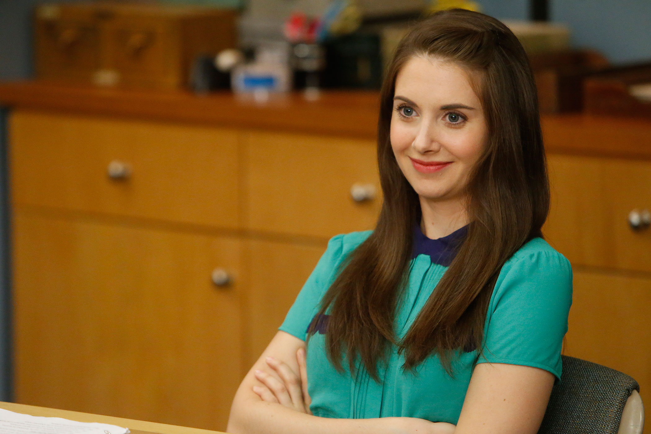 Alison Brie as Annie in Community