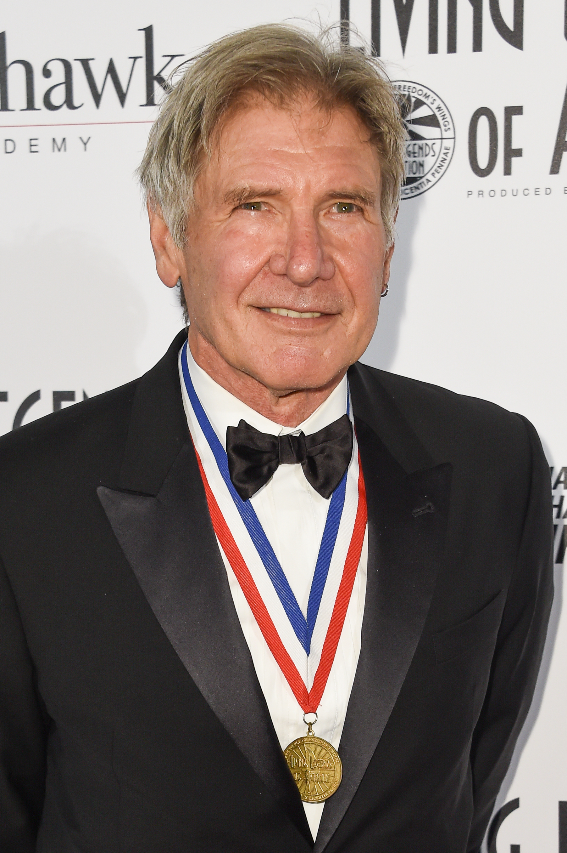 Harrison Ford attends the 12th Annual Living Legends of Aviation Awards in Los Angeles on Jan. 16, 2015.