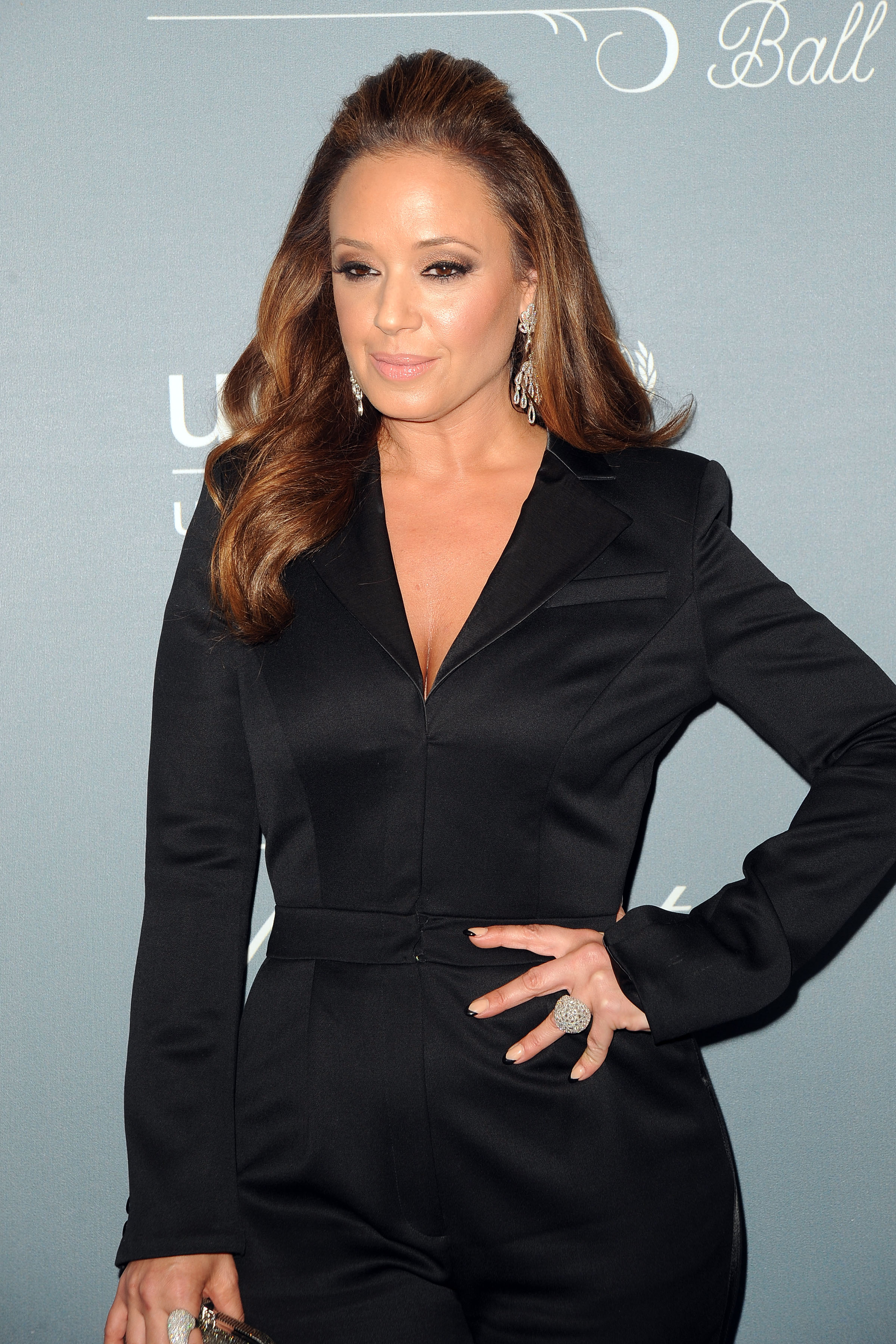 Actress Leah Remini attends the 2014 UNICEF Ball in Beverly Hils, Calif. on Jan. 14, 2014.