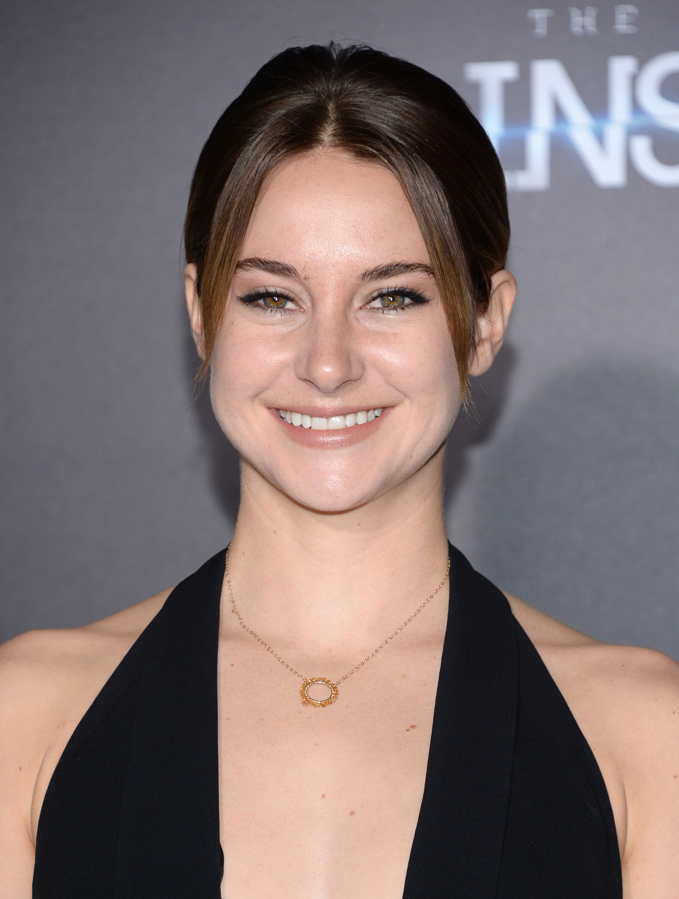 Shailene Woodley arrives at the premiere of  The Divergent Series: Insurgent  in New York City on March 16, 2015.