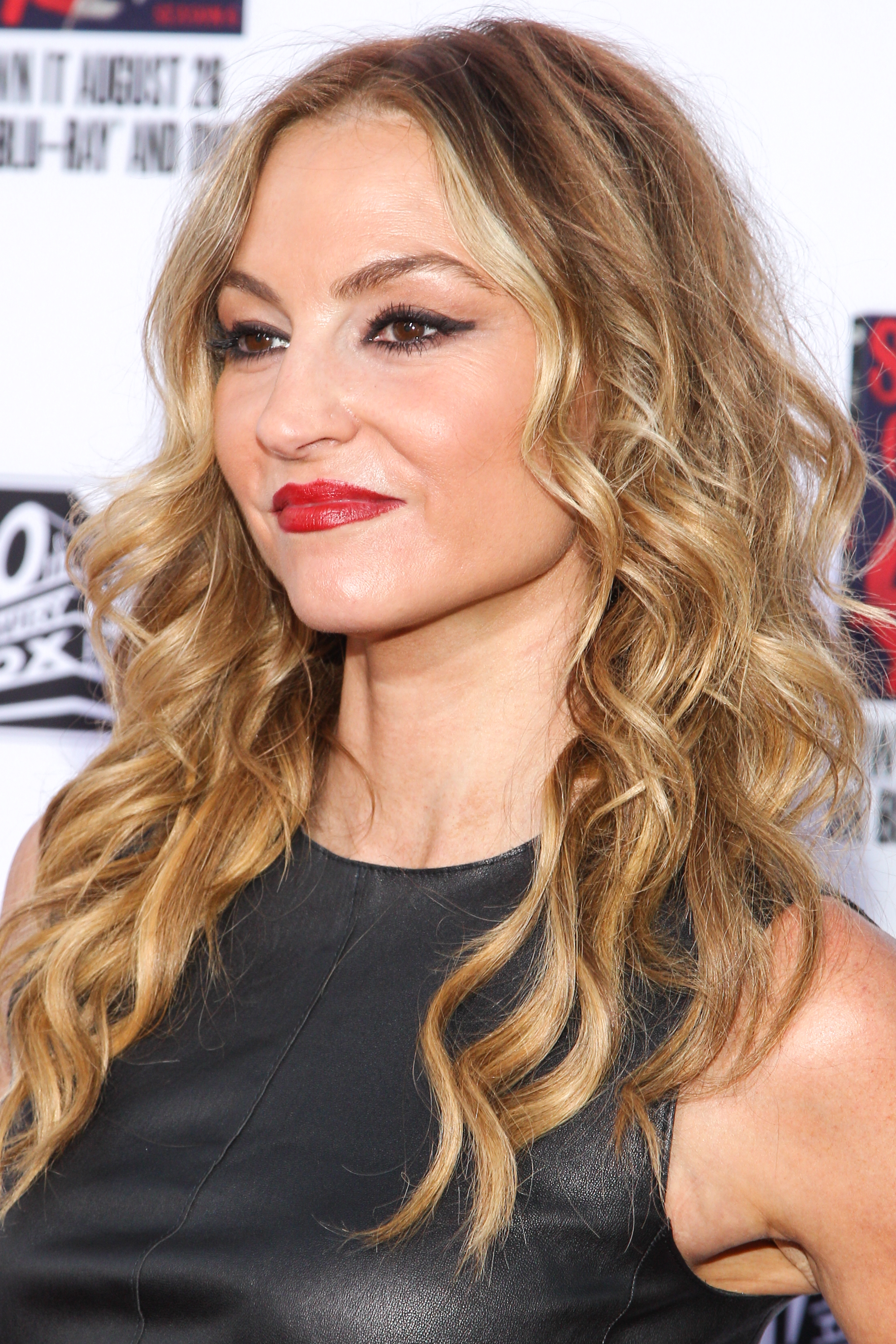 Actress Drea de Matteo attends the LA Premiere Screening of  Sons Of Anarchy  in Los Angeles on Sept. 6, 2014.