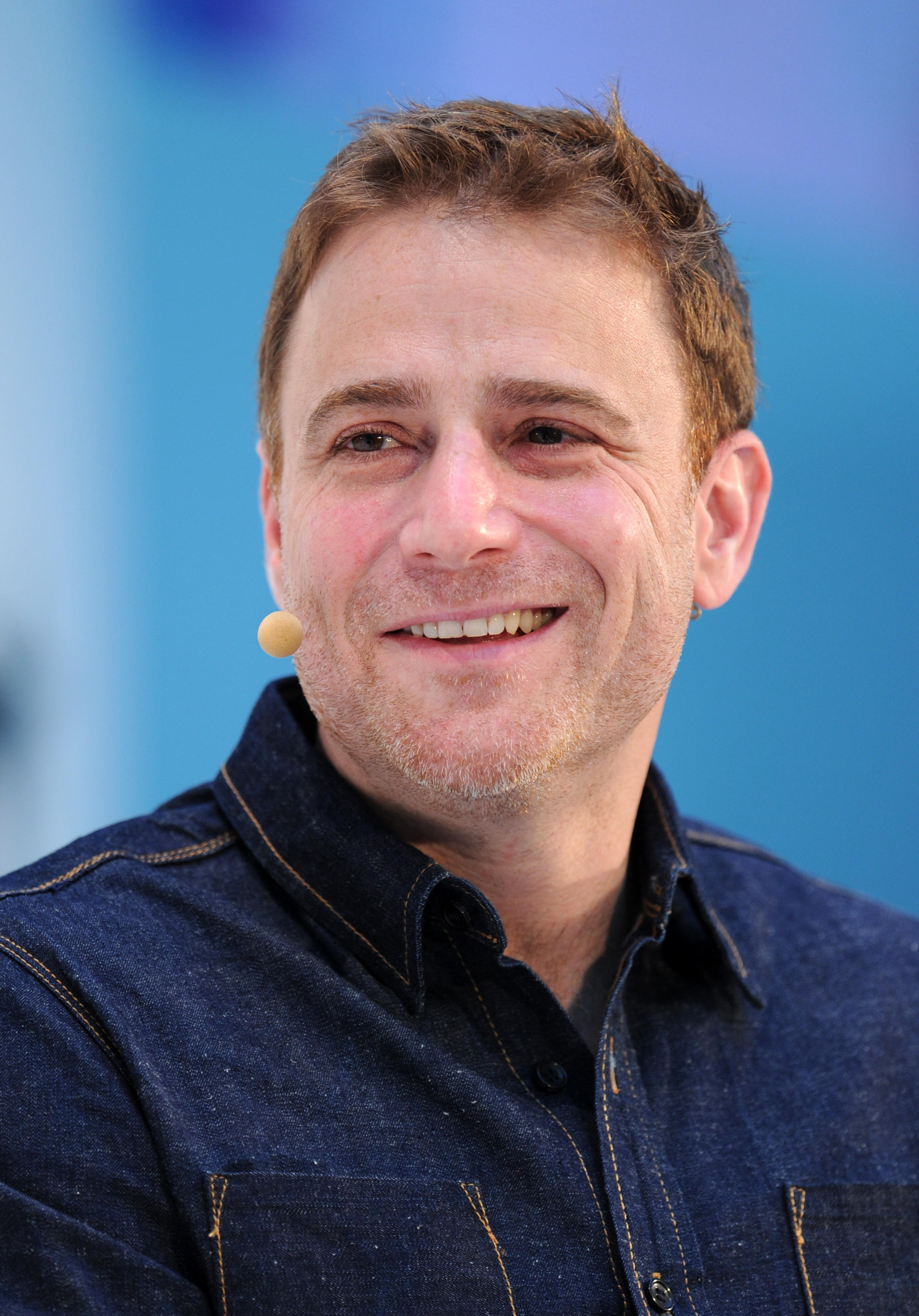 Stewart Butterfield, co-founder and CEO of Slack, speaks at the DLD (Digital-Life-Design) Conference in Munich, Germany on Jan. 19, 2015.