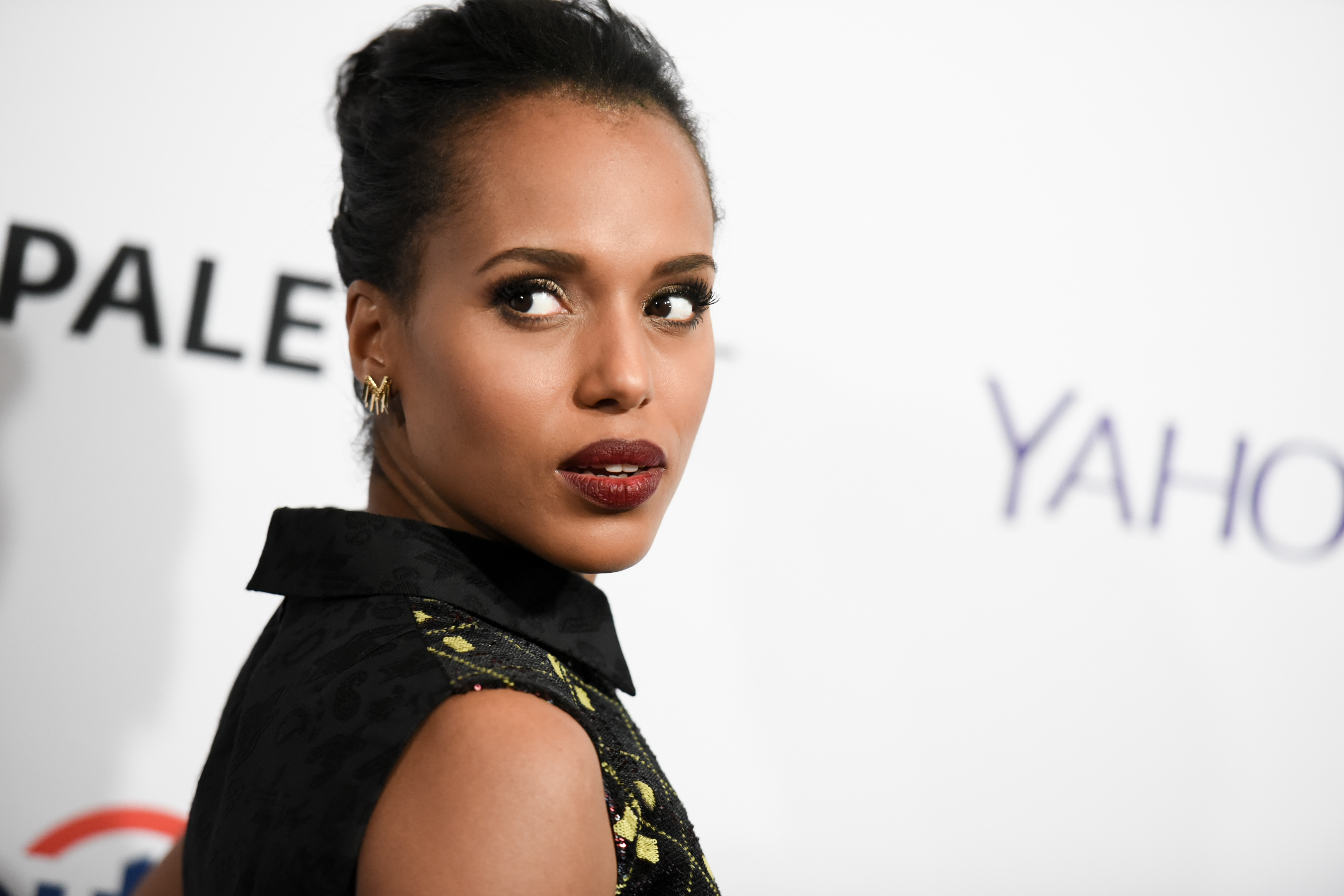 Kerry Washington arrives at the 32nd Annual Paleyfest :  Scandal  held at The Dolby Theatre on Sunday, March 8, 2015, in Los Angeles.