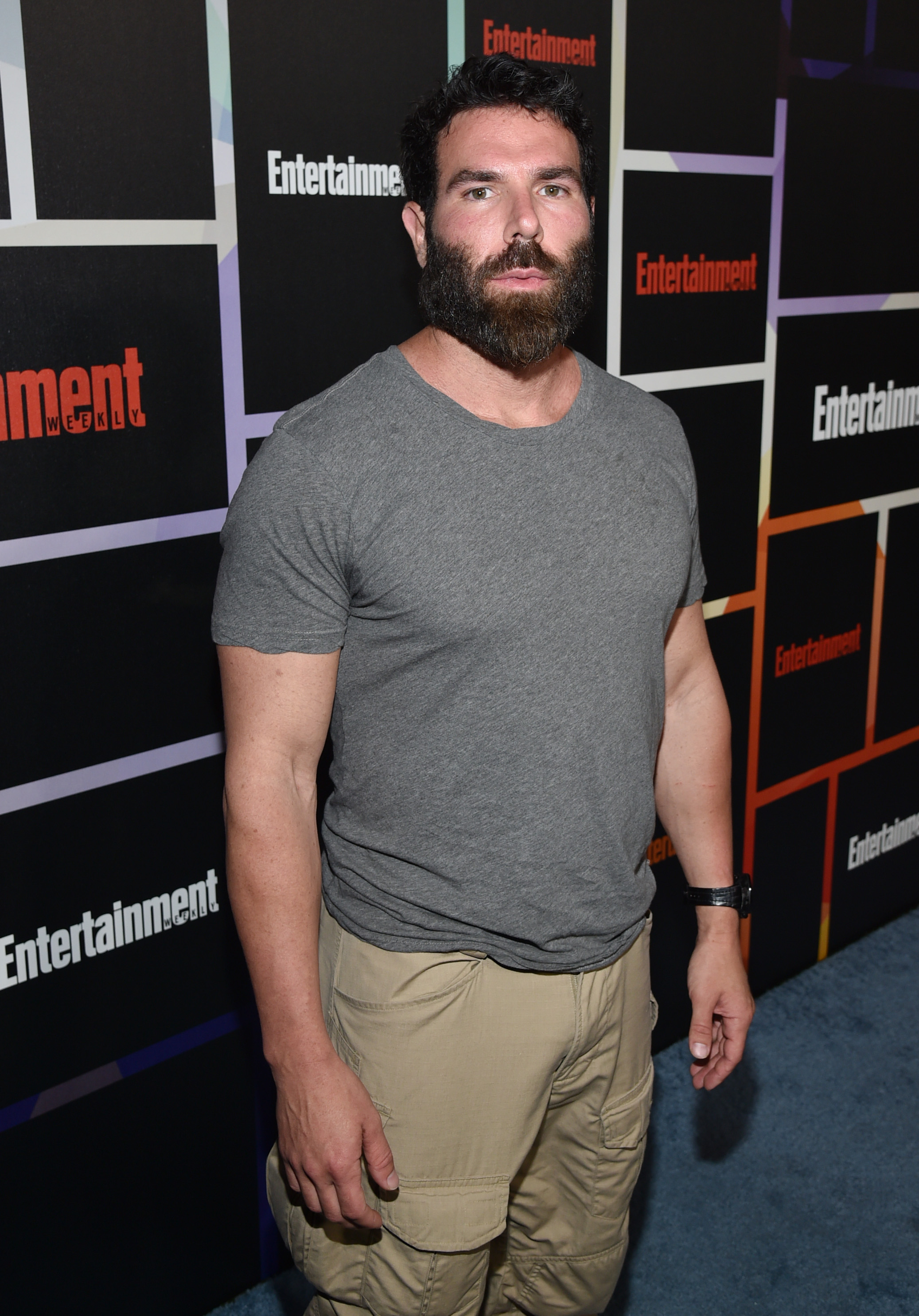 Dan Bilzerian arrives at Entertainment Weekly's Annual Comic-Con Closing Night Celebration in San Diego on July 26, 2014.