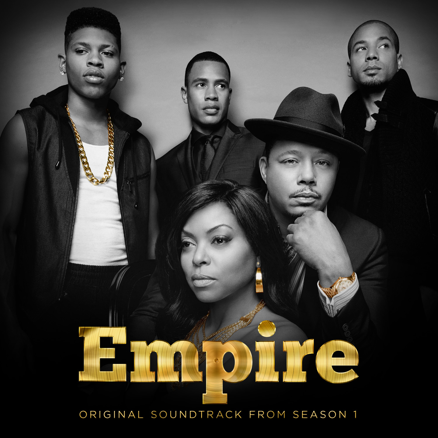 Cover image of the original soundtrack from Season 1 of  Empire.