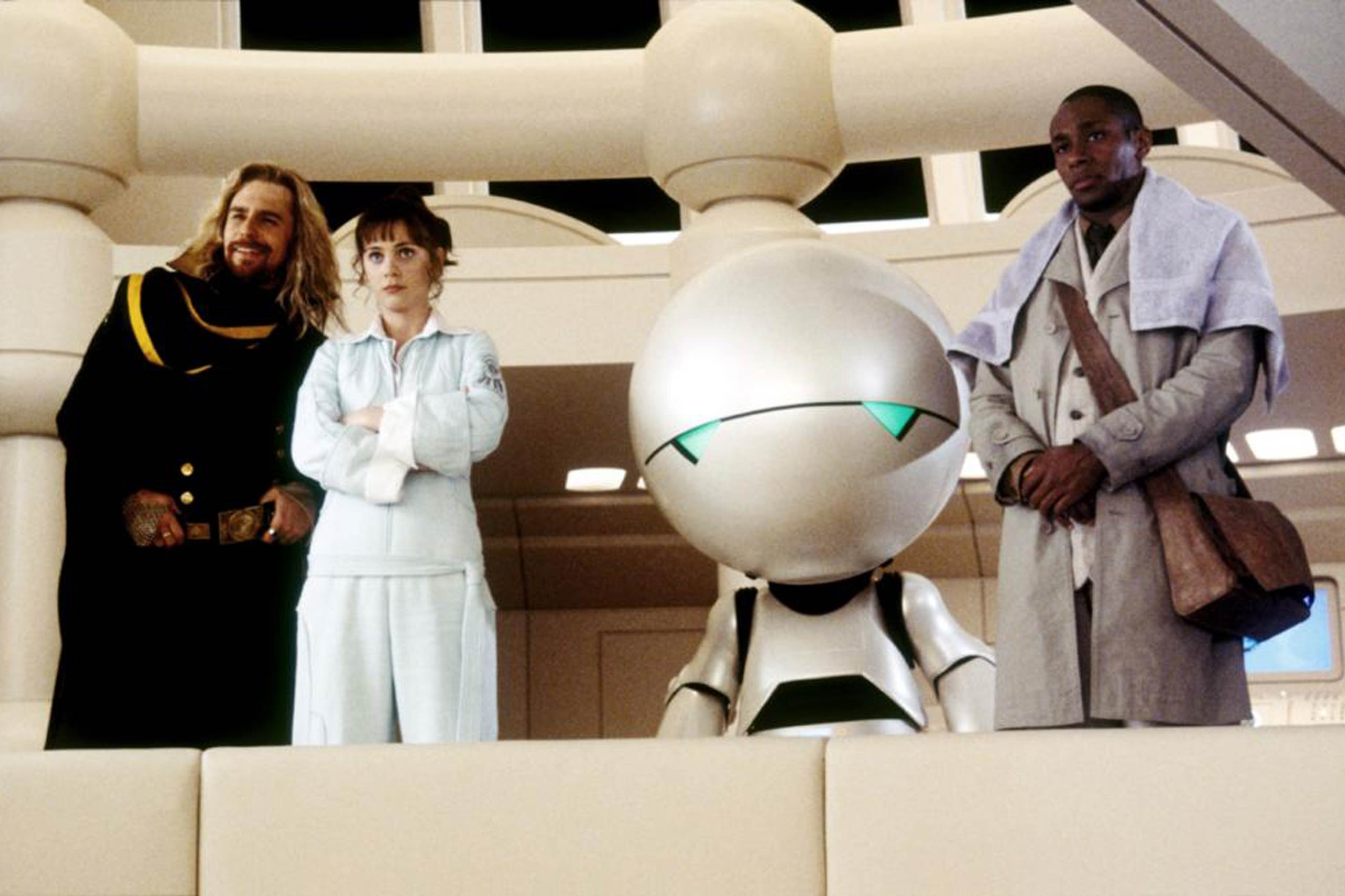 <strong>Marvin – <i>The Hitchhiker's Guide To The Galaxy</i>, 2005</strong>