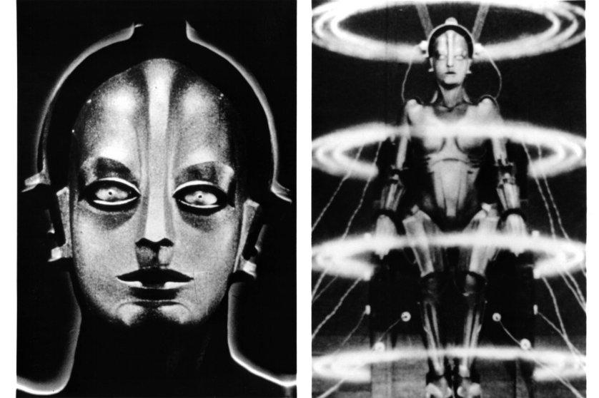Brigitte Helm In 'Metropolis'